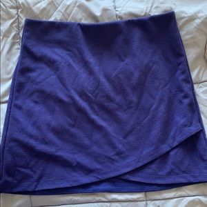 Royal blue loft skirt